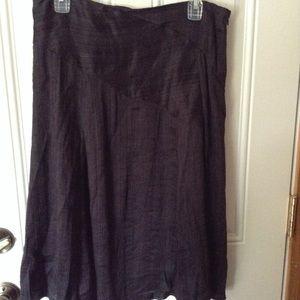 Croft& barrow black skirt